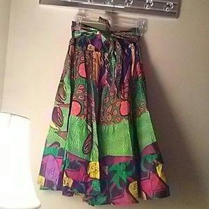 Skirts - Ethnic print skirt